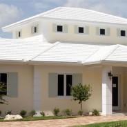 Flat Cement Tile in White – Ocean Reef residence