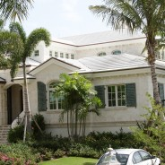 Boral Atlantis All Thickbutt in White with Copper Flashings – Ocean Reef Residence