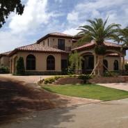 Tejas Borja Clay Barrel Roof Tile – Ocean Reef residence, Key Largo, FL