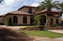 Tejas Borja Clay Barrel Roof Tile – Ocean Reef residence, Key Largo, FL