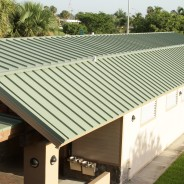Standing Seam in Everglade Moss – Harris Field restrooms – Homestead, FL
