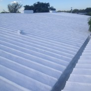 Closed Cell SPF roof system – North Miami, FL